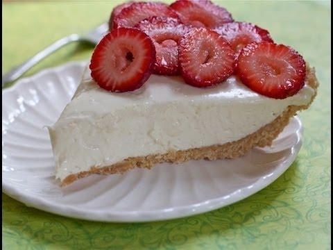 Easy No Bake Cheesecake Recipe - Childhood favorite!!