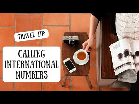 Calling International Numbers | How to Dial Abroad
