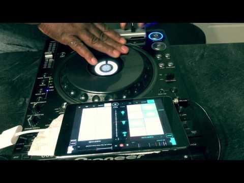 djTDK Meets MixFader w/Serato control cd and a Pioneer DVJ 1000