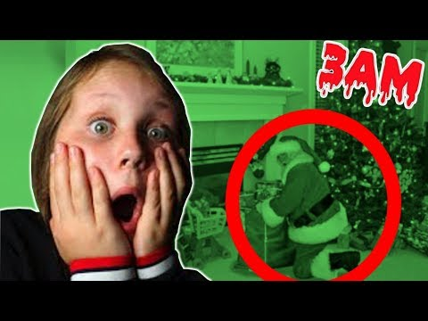 DO NOT RECORD SANTA CLAUS AT 3AM!! ft. Ruby Rube