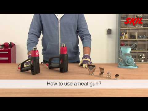 How to use a heat gun?