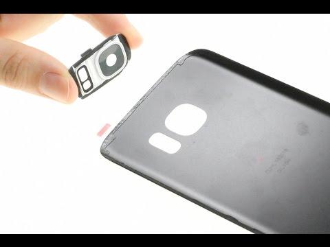Samsung Galaxy S7 Broken Back Glass & Camera Lens Repair Guide