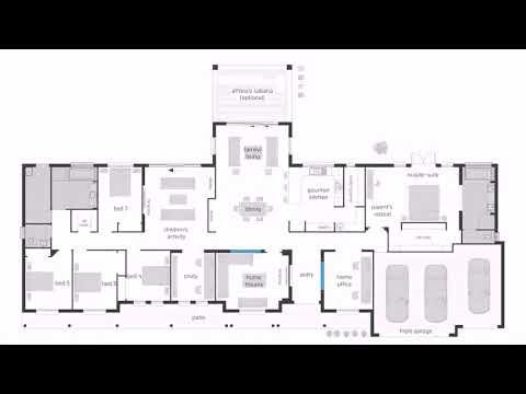 Floor Plans Of 4 Bedroom House