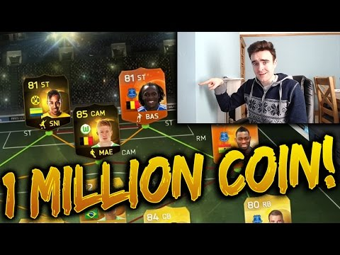 FIFA 15 - THE BEST 1 MILLION COIN TEAM!!! - INCREDIBLE DIVISION 1 FIFA 15 HYBRID SQUAD BUILDER!!!