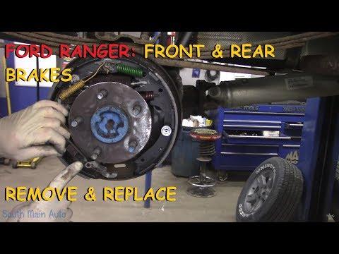 Ford Ranger: Full Brake Job w/ Rear Drum Brakes