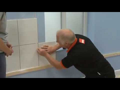 How to install tiles around a window