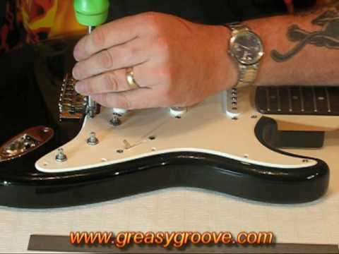 Replacing, Installing, Removing a Guitar Pickguard Part 1