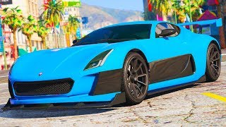 "GTA 5 ONLINE NEW ""COIL CYCLONE"" DLC CAR GAMEPLAY, CUSTOMIZATION & SECRET FEATURES (GTA 5 Update)"