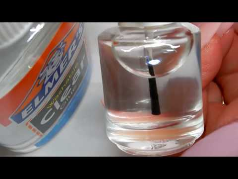 DIY - HOMEMADE  CLEAR PEEL OFF BASE COAT --------SEE HOW ----