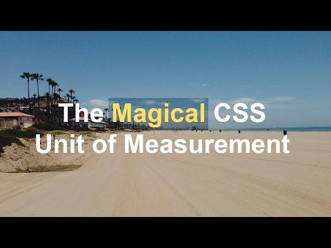 Viewport Units Tutorial: The Magical CSS Unit of Measurement