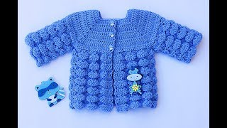 Baby Jersey To Crochet Very Easy Majovelcrochet #crochet