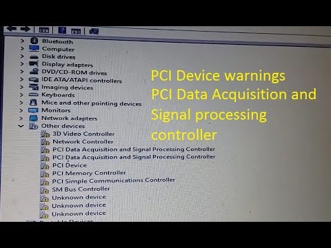 PCI Data Acquisition and signal processing controller driver device manager