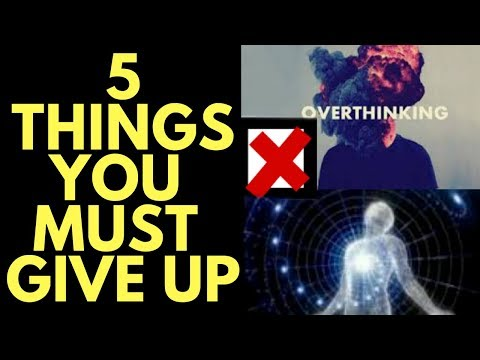 5 Things To Give Up to Communicate With the Universe and Attract What You Want