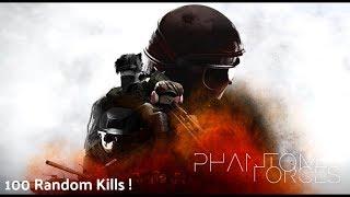 Roblox : Phantom Forces | Holy Shit , 100 Kills !