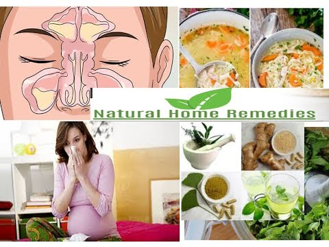 Natural Home Remedies to cure cold and flu during pregnancy