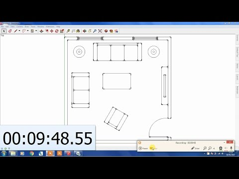 Create a SketchUp Floor Plan in Under 10 Mins!