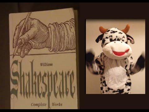 Cow Shakespeare Daily - 001