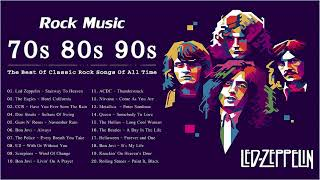 70s 80s 90s Rock Music Hits Collection | The Best Of Classic Rock Songs Of All Time
