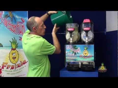 4/7 Slush Machine training Video - Cleaning