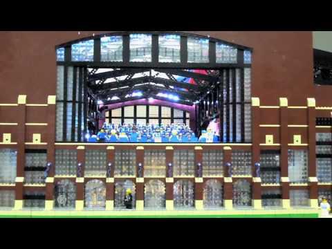 Lucas Oil Stadium in LEGO Motion