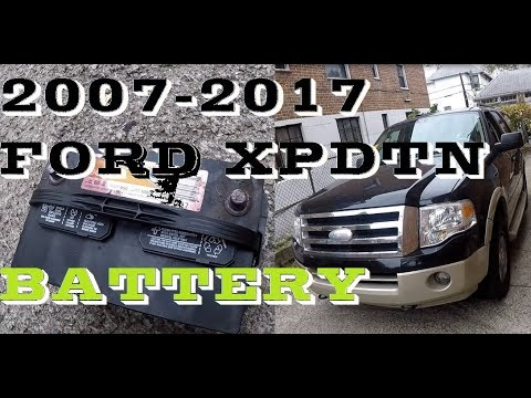 How to change replace battery in 2007-17 Ford Expedition