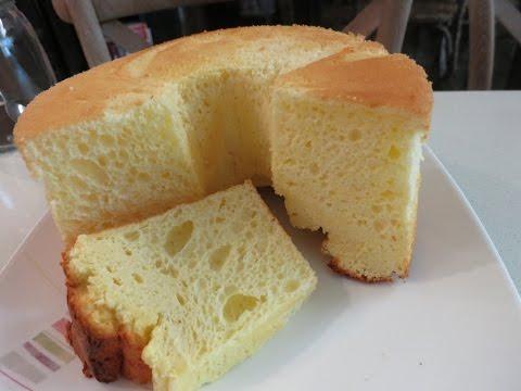 Super Moist and Fluffy Lemon Cream Cheese Chiffon Cake