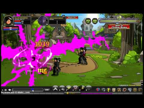 AQW Warriors First Video, Killing the High Chaos Knight solo