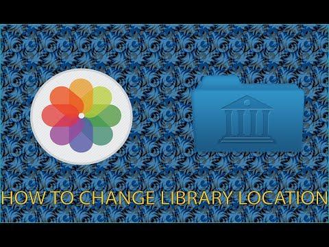 Create/Move Photos Library On Mac OS Sierra