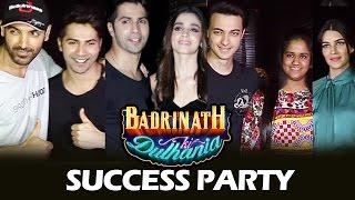 Badrinath Ki Dulhania Success Party   Full HD Video   Varun, Alia, John, Kriti, Arpita
