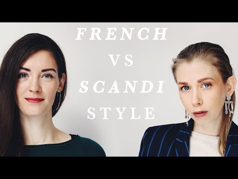 FRENCH STYLE VS SCANDINAVIAN STYLE  | feat. justine leconte !