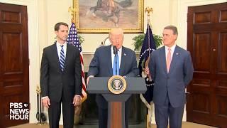 Trump discusses legal immigration reform with GOP senators
