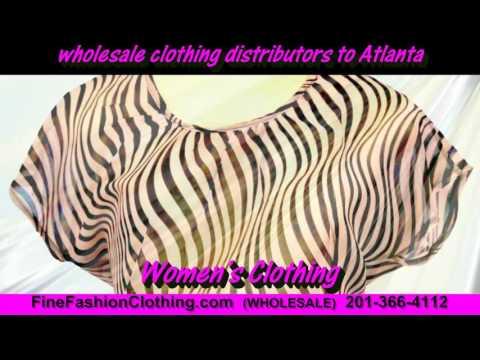 Atlanta Clothing Wholesalers  and Cheap Wholesale Clothing Distributors of Atlanta Women Apparel