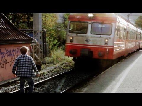 Epic Train Stunt