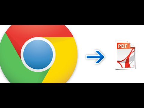 How to save Web Pages as PDF file in Chrome for Android