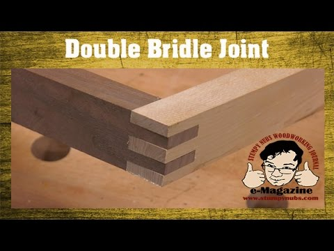 Table Saw Lesson: How to cut a double bridle joint
