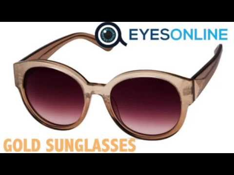 Gold Sunglasses Collection - EYESONLINE
