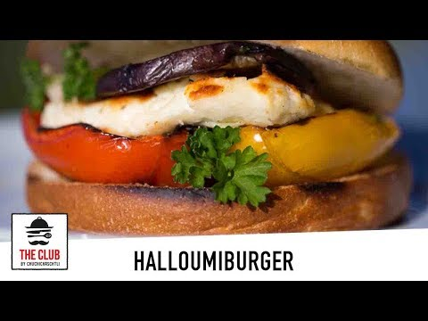 Halloumi-Burger Deluxe | theclub.ch | Rezept #115