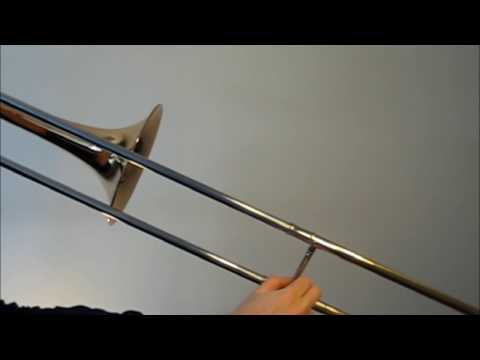 Learn to play C major scale on trombone