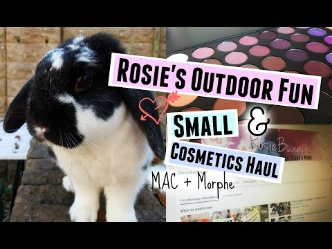 VLOG: Rosie's Outdoor Fun & Small Cosmetics Haul | RosieBunneh