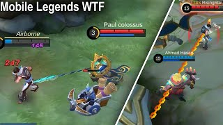 Wtf Mobile Legends Funny Chou get Hook