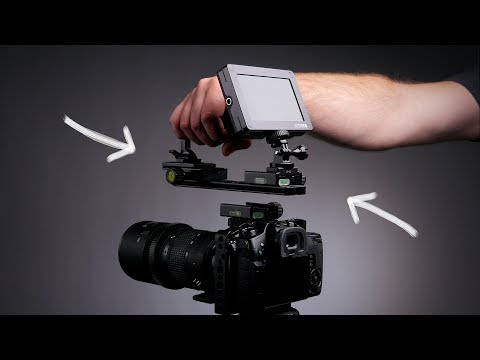 Sweet Camera Rig System on the Cheap