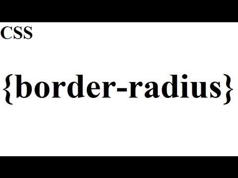 CSS how to: border-radius