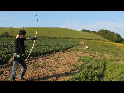 Trilaminate English Longbow
