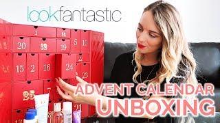Look Fantastic Advent Calendar 2018 Unboxing   Paula Holmes