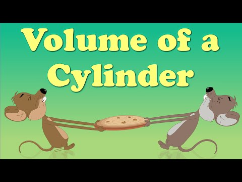 Volume of a Cylinder | It's AumSum Time