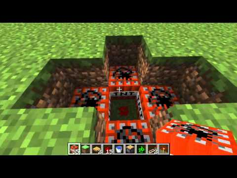 Genius Piston TNT Trap - MineCraft 1.2.5