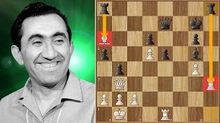 Unstoppable Force Meets an Immovable Object | Nezhmetdinov vs Petrosian