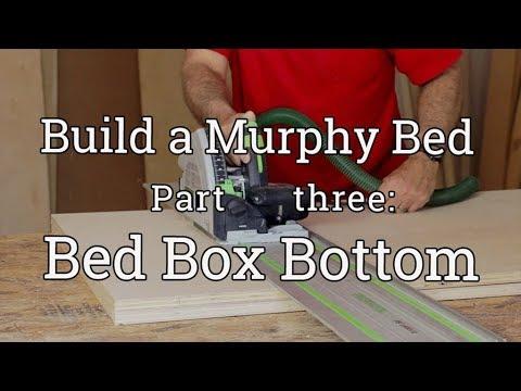 Murphy Bed Build (3) Platform Bottom