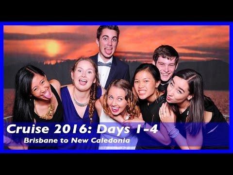 Cruise 2016   Brisbane to Noumea   Days 1-4