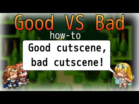 RPG Maker Good vs Bad Cutscenes